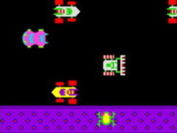 Bild zu Klassiker-Spiel Frogger