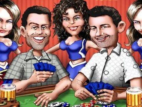 Bild zu Karten & Brett-Spiel Juggys Wild Poker