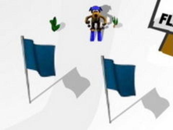 Bild zu Geschick-Spiel Slalom