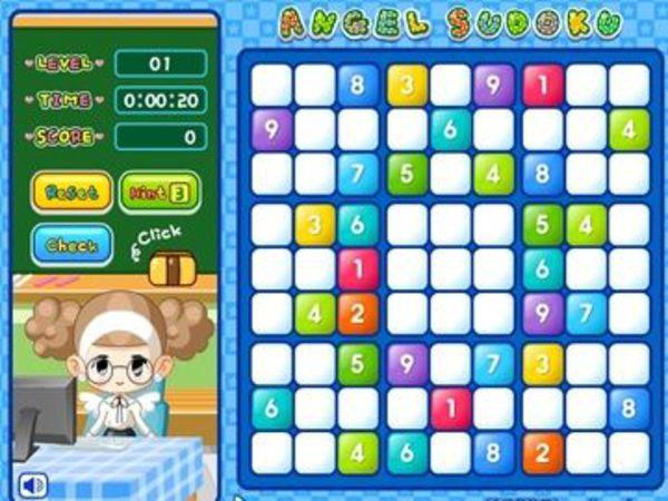 Bild zu Denken-Spiel Angel Sudoku