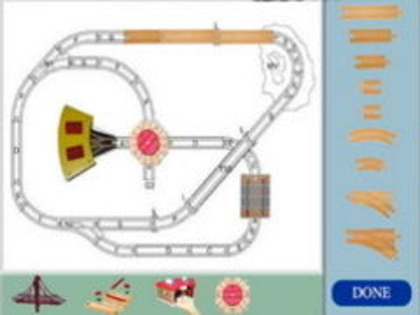 Bild zu Geschick-Spiel Wooden Trainsets
