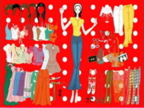 Bild zu Mädchen-Spiel Olivias Dress