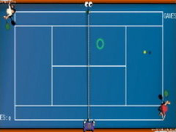 Bild zu Sport-Spiel Tennis 2000