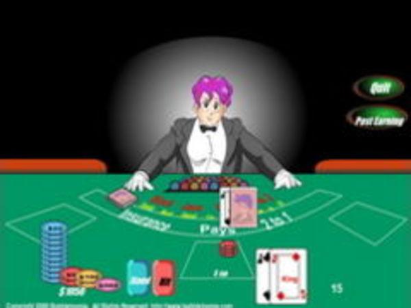 Black jack browsergame