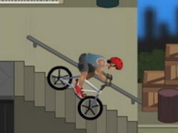 Bild zu Geschick-Spiel BMX pro Sreet
