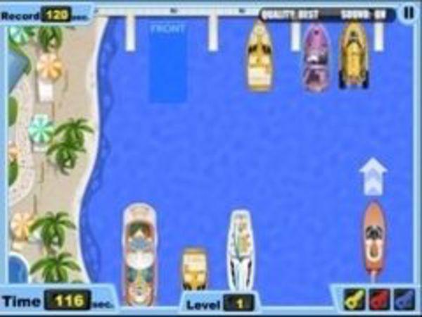 Bild zu Geschick-Spiel Park my Boat