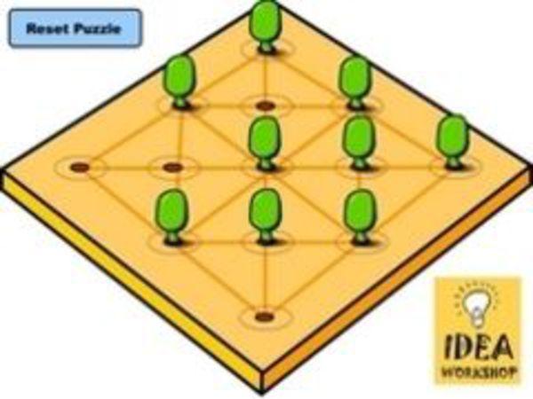 Bild zu Denken-Spiel Green Solitaire