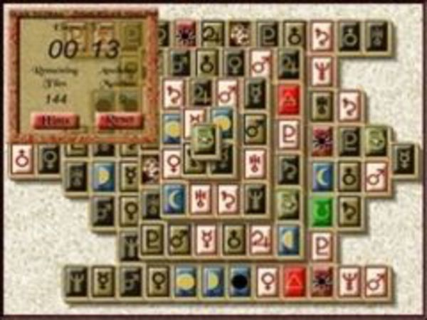 Bild zu Karten & Brett-Spiel Mahjongg Key