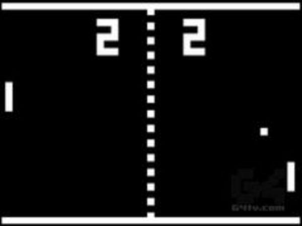 Bild zu Klassiker-Spiel BW Pong