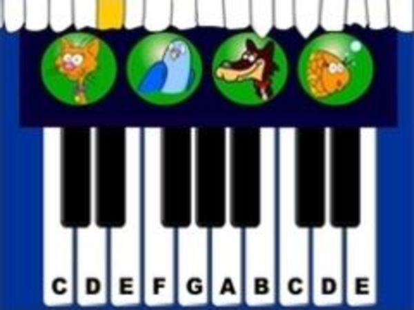 Bild zu Geschick-Spiel Pet Piano