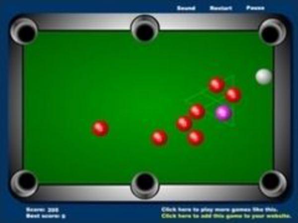 Bild zu Sport-Spiel Mini Pool