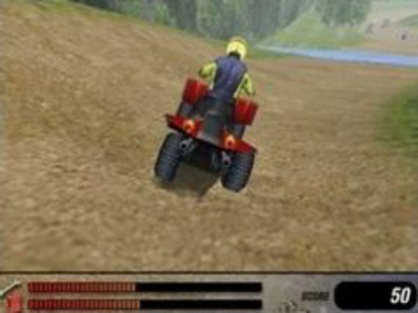 Bild zu Rennen-Spiel 4 Wheel Fury