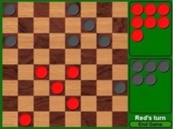 Bild zu Denken-Spiel Checkers