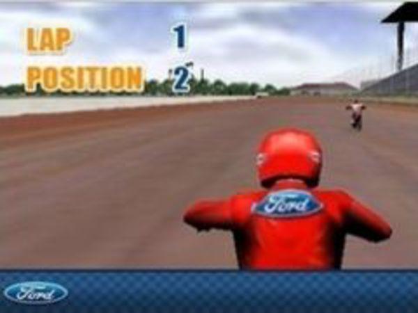 Bild zu Rennen-Spiel Ford Flattrack