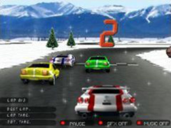 Bild zu Rennen-Spiel 3D Racing 2