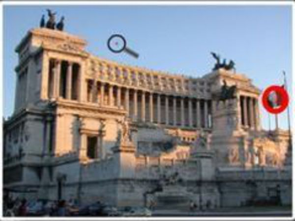 Bild zu Denken-Spiel 50 Seconds 5 Differences Rome