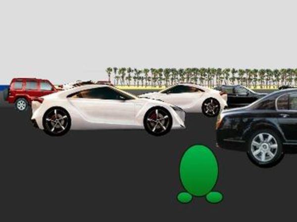 Bild zu Geschick-Spiel 3D Frogger