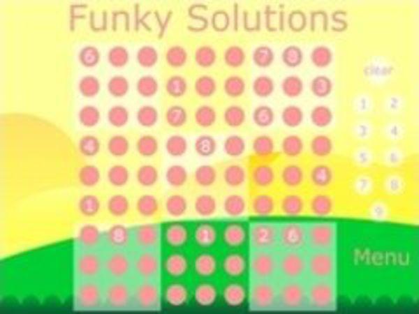 Bild zu Denken-Spiel Funky Solutions