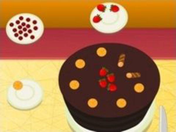 Bild zu Mädchen-Spiel Schokokuchen Bäcker