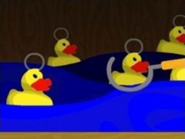 Bild zu Kinder-Spiel Hook a Duck