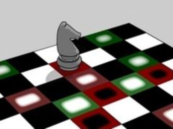 Bild zu Denken-Spiel Knights Tour