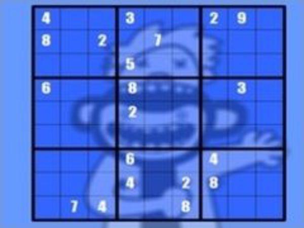 Bild zu Denken-Spiel No Frills Sudoku