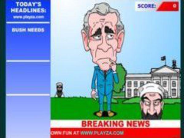 Bild zu Sport-Spiel Bush-isms