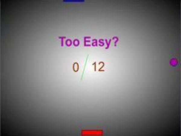 Bild zu Geschick-Spiel Pong2