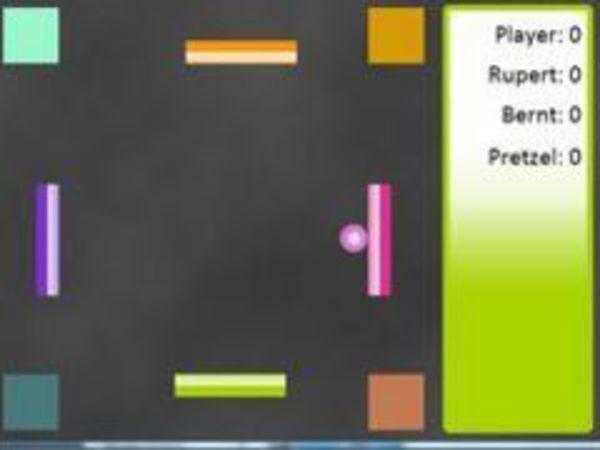 Bild zu Geschick-Spiel Pong 4