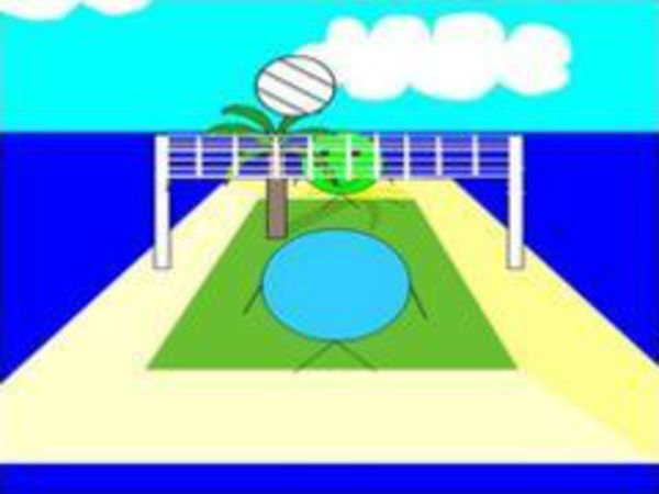 Bild zu Geschick-Spiel Volleyball