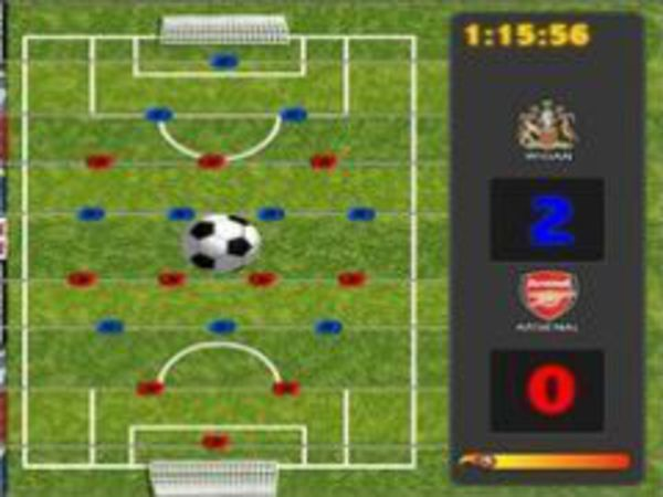 Bild zu Geschick-Spiel Premiereleague Fussball
