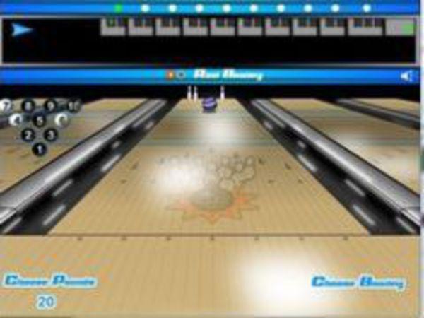 Bild zu Sport-Spiel Real Bowling