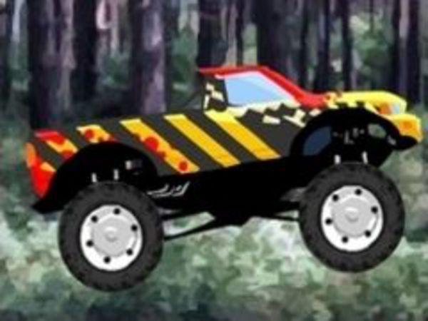 Bild zu Geschick-Spiel Monstertruck Madness