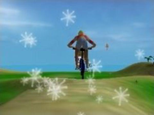 Bild zu Rennen-Spiel Stuntbike Island