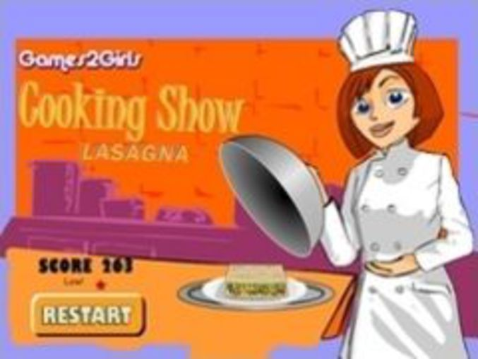 Cooking Show Lasagna