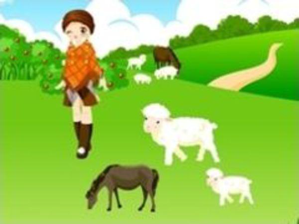 Bild zu Mädchen-Spiel Farm Garden