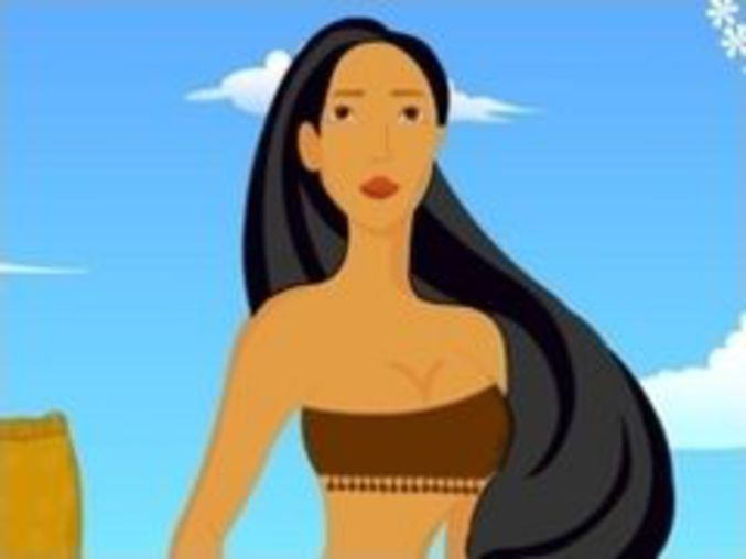 Pocahontas Dressup