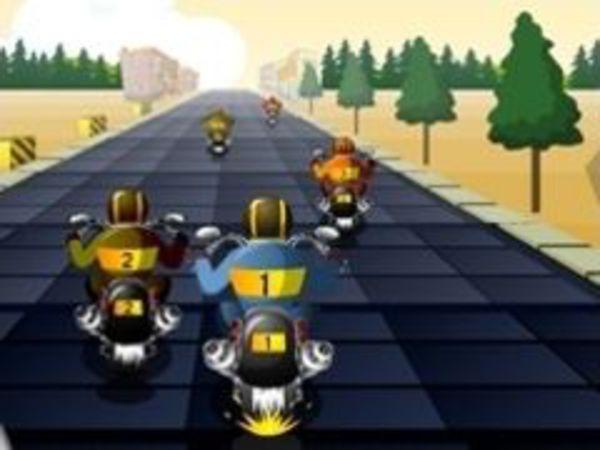 Bild zu Rennen-Spiel Chopper Race