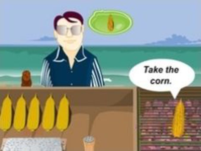 Indian Corn Shop