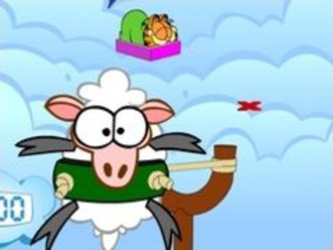 Garfield Sheep Shot