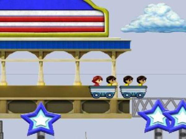 Bild zu Simulation-Spiel Rollercoaster Rush