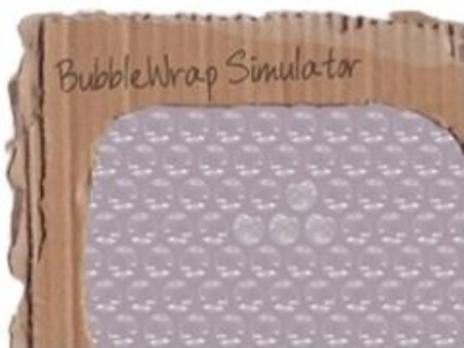 Bubblewrap Simulator