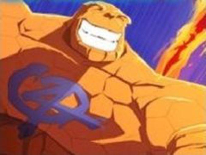 Rush and Crush Fantastic Four