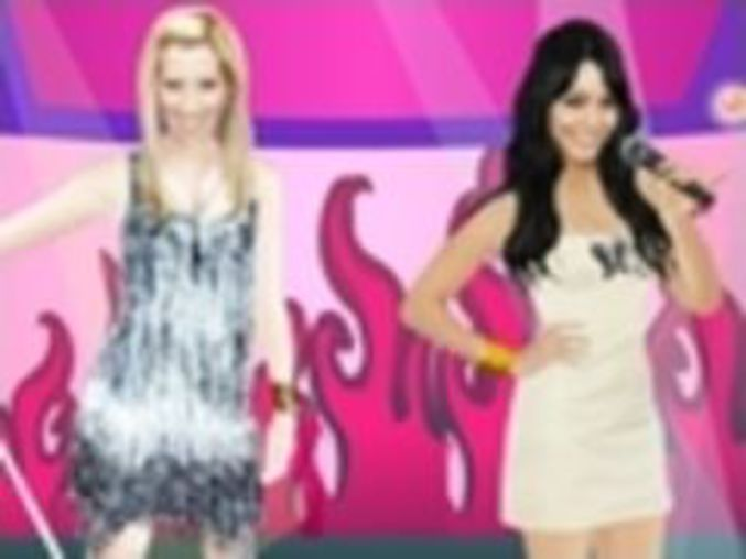 Ashley and Vanessa Dressup