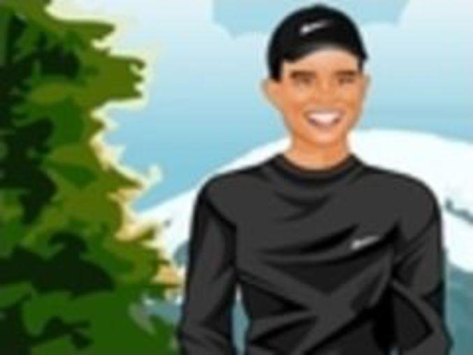 Tiger Woods Dressup