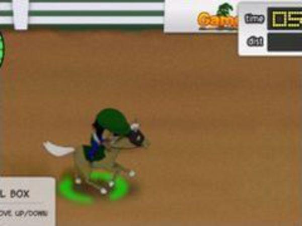 Bild zu Rennen-Spiel Pferderennbahn