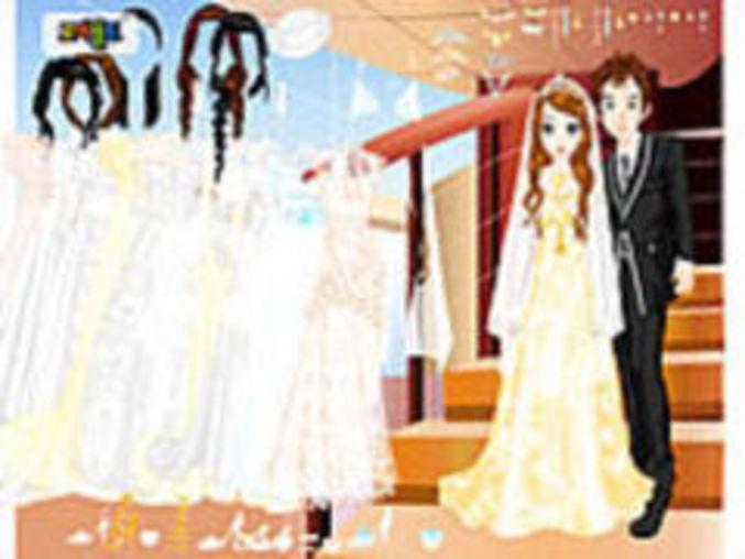 Wedding Couple Dressup