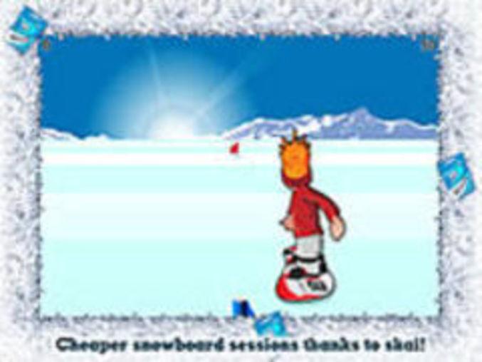 Swiss-snowboard