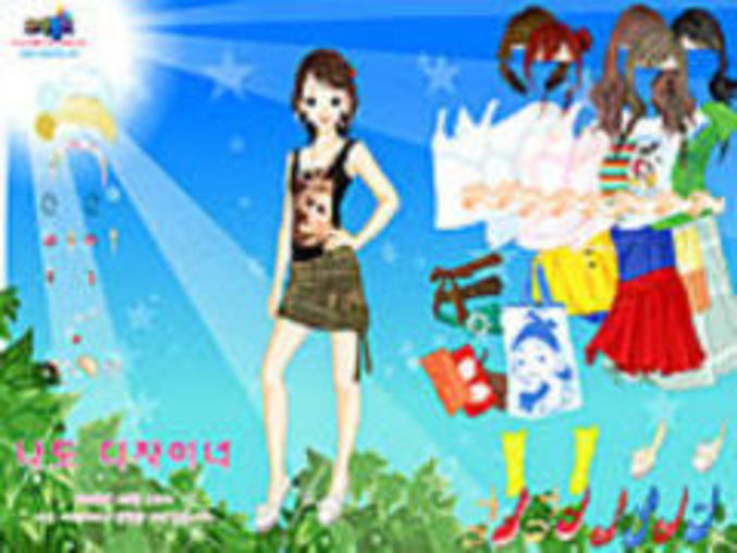 Sun Leaves Dressup