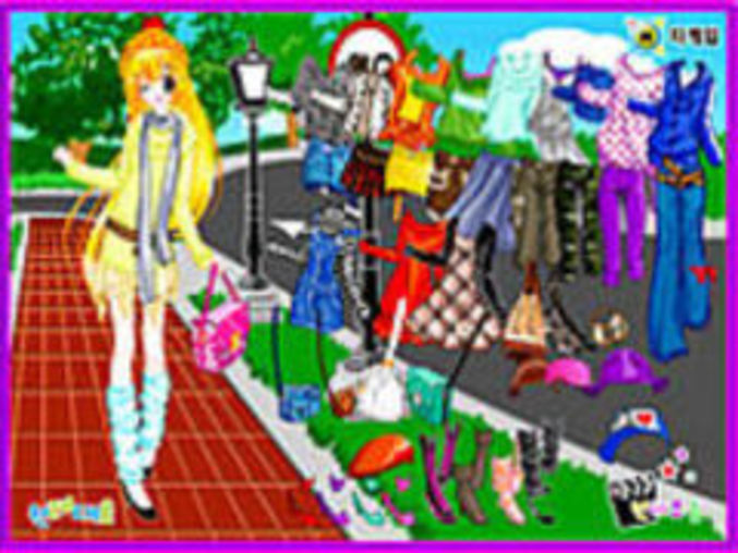 Street Fashion Dressup